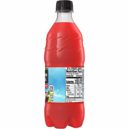 Minute Maid Fruit Punch Fruit Juice Drink Perspective: right