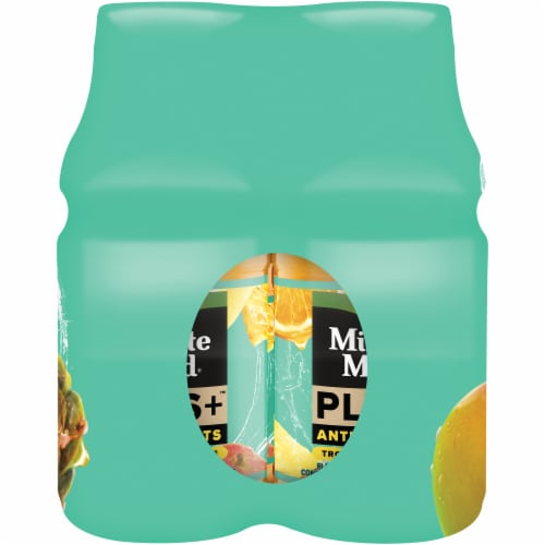 Minute Maid Plus Antioxidants Tropical Lemonade Fruit Juice Drink Perspective: right