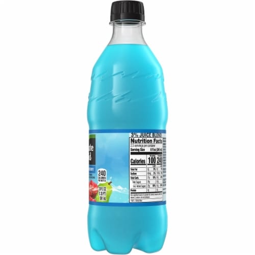 Minute Maid Blue Raspberry Fruit Juice Drink Perspective: right