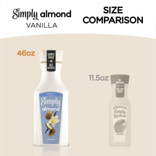 Simply Vanilla Almond Milk Perspective: right