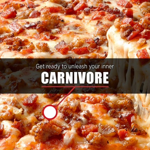 Devour All Day Breakfast Double Sausage & Smoked Bacon Loaded Tater Tots Frozen Meal Perspective: right