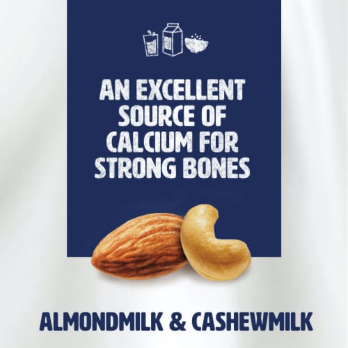 Silk Original Almond & Cashew Protein Milk Perspective: right