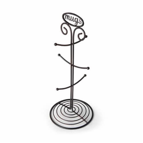 Mikasa Gourmet Basics Wire Mug Tree - Black Perspective: right