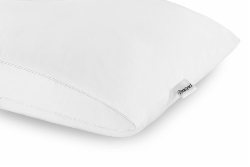 Beautyrest® Memory Fiber Pillow - White Perspective: right