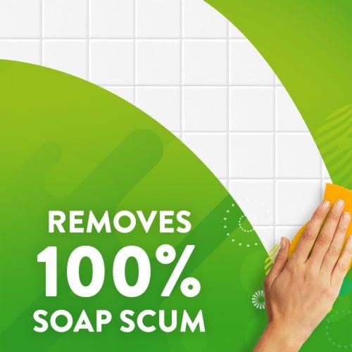 Scrubbing Bubbles Citrus Bathroom Grime Fighter Perspective: right
