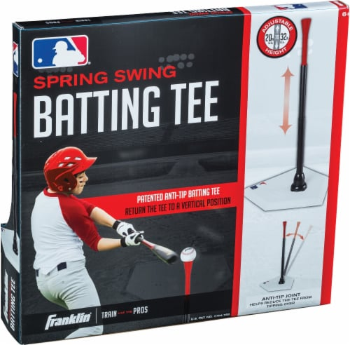 Franklin MLB Spring Swing Anti-Tip Batting Tee Perspective: right