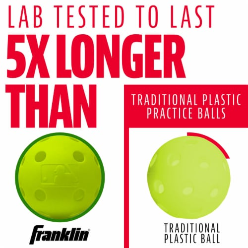 Franklin Indestruct-A-Ball Set - Yellow Perspective: right