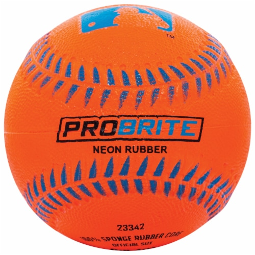 Franklin MLB Neon Rubber Teeball - Assorted Perspective: right
