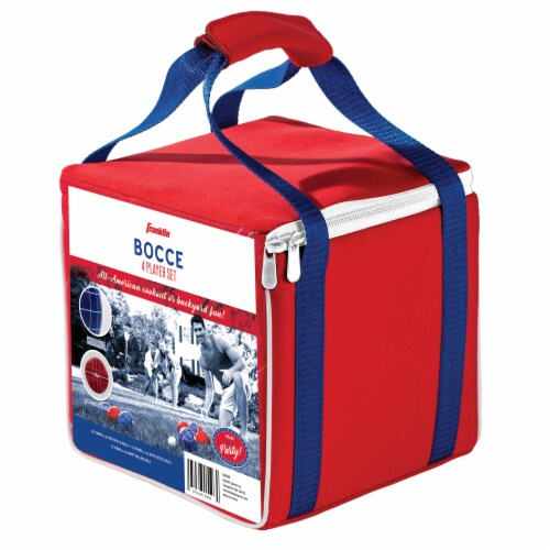 Franklin Bocce 4 Player Set - Red/White/Blue Perspective: right
