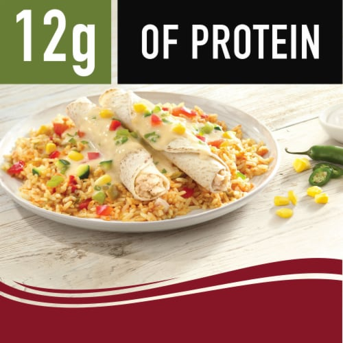 Smart Ones Delicious Mexican Flavors Chicken Enchiladas Suiza Perspective: right