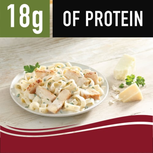 Smart Ones Savory Italian Recipes Chicken Fettuccine Frozen Meal Perspective: right