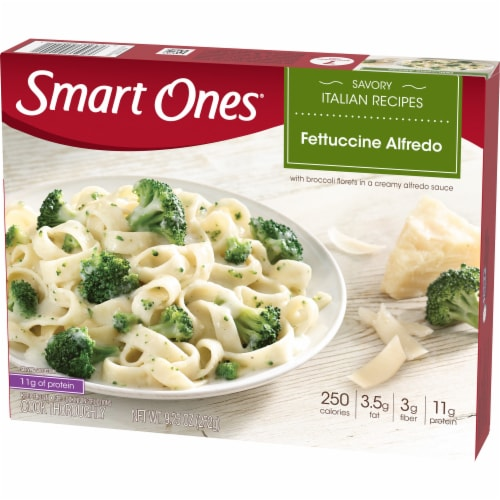 Smart Ones Savory Italian Recipes Fettuccine Alfredo Perspective: right