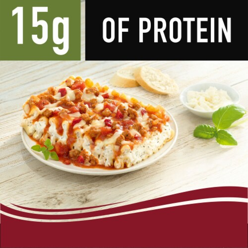 Smart Ones Savory Italian Recipes Traditional Lasagna with Meat Sauce Perspective: right