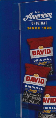 David Original Jumbo Sunflower Seeds Pantry Pack Perspective: right