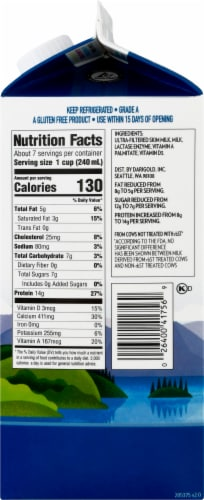 Darigold Fit 2% Reduced Fat Ultra-Filtered Milk Perspective: right