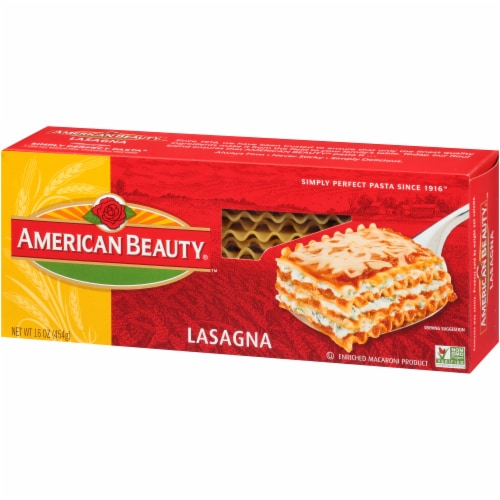 American Beauty Lasagna Perspective: right