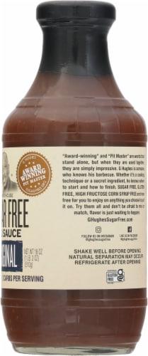 G Hughes Sugar Free Original Smokehouse BBQ Sauce Perspective: right