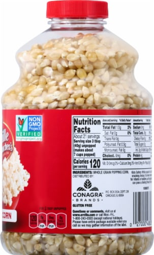 Orville Redenbacher's Original Gourmet White Popcorn Kernels Perspective: right