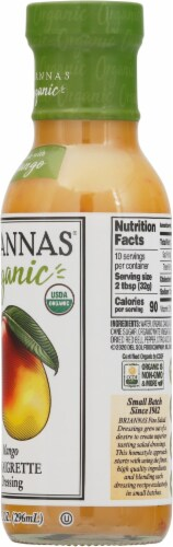 Brianna's Organic Mango Viniagrette Dressing Perspective: right