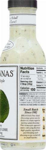 Brianna's Creamy Cilantro Lime Salad Dressing Perspective: right