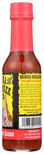 Arizona Gunslinger Jalapeno Pepper Sauce Perspective: right