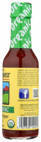 Organic Harvest Jalapeno Pepper Sauce Perspective: right
