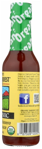 Arizona Pepper's Organic Harvest Foods Chipotle Habanero Pepper Sauce Perspective: right
