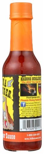 Arizona Gunslinger Chipotle Habanero Pepper Sauce Perspective: right