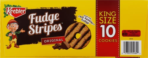 Keebler Original Fudge Stripes Cookies Perspective: right