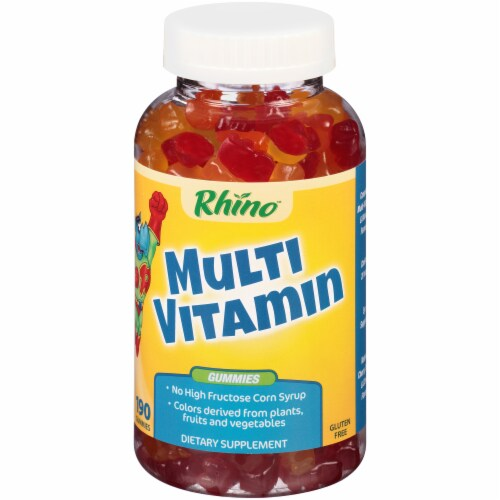 Rhino Multi Vitamin Gummies 190 Count Perspective: right