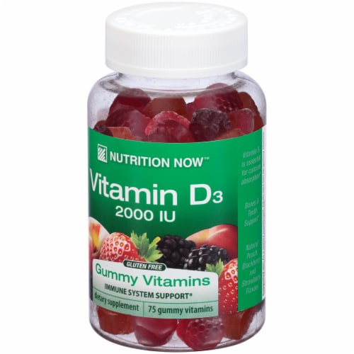 Nutrition Now Vitamin D3 Gummies Perspective: right