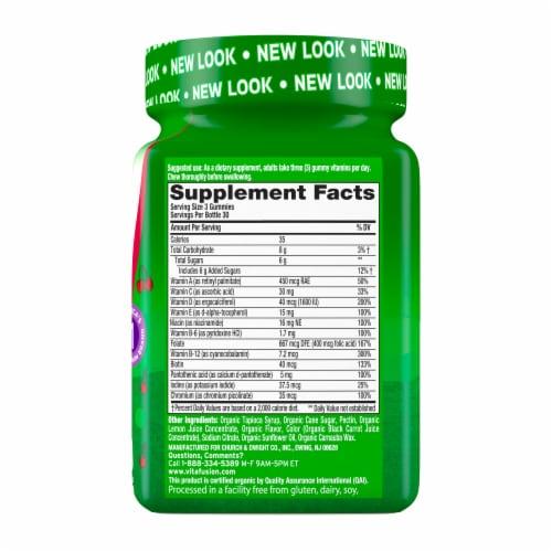 Vitafusion Organic Womens Multi Gummies Perspective: right