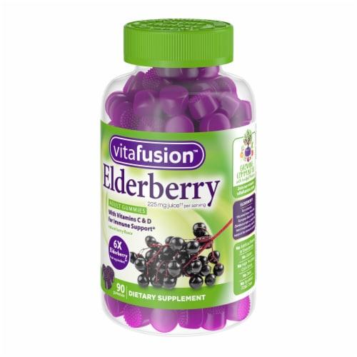 Vitafusion Elderberry Adult Gummies Perspective: right