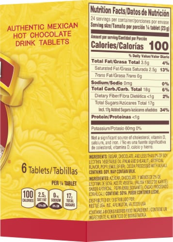 Nestle Abuelita Authentic Mexican Hot Chocolate Drink Tablets Perspective: right