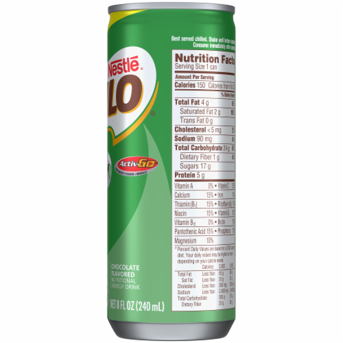 Nestle Milo Chocolate Nutritional Energy Drink Perspective: right