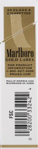 Marlboro Gold Label Cigarettes Perspective: right