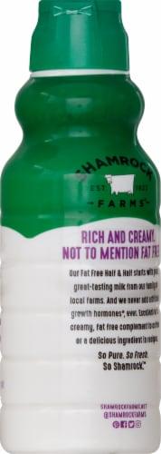 Shamrock Farms Fat Free Half & Half Perspective: right