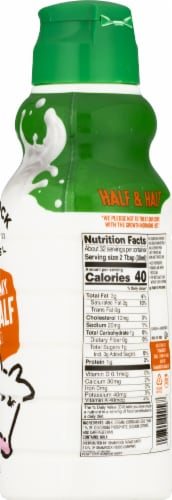 Shamrock Farms Ultra Pasteurized Half & Half Perspective: right