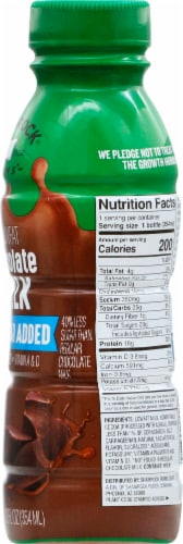 Shamrock Farms 1% No Sugar Addec Lowfat Chocolate Milk Perspective: right