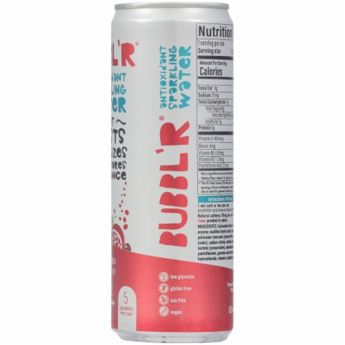 Bubbl'r Pomegranate Acai Refresh'r Sparkling Water Perspective: right