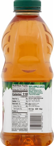 Tree Top 100 % Apple Juice Perspective: right