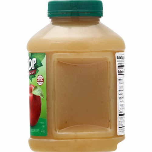 Tree Top No Sugar Added Apple Sauce Perspective: right