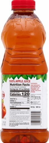 Tree Top Pure Pressed 3 Apple Blend 100% Apple Juice Perspective: right