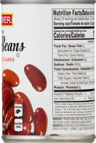 Hanover Light Red Kidney Beans Perspective: right