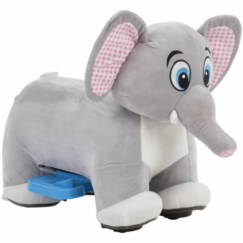 Huffy Elephant Plush Quad Perspective: right