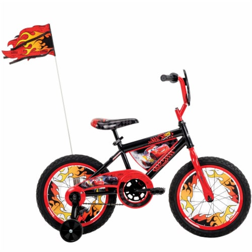 Huffy Disney Pixar Cars Bicycle - Black/Red Perspective: right