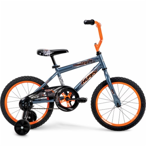 Huffy Pro Thunder Boy's Bicycle - Orange/Black Perspective: right