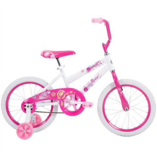 Huffy So Sweet Girls Bicycle - White/Pink Perspective: right