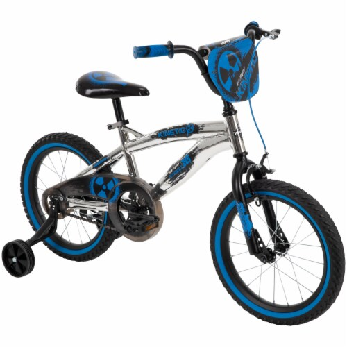 Huffy Kinetic Bicycle - Blue/Black Perspective: right