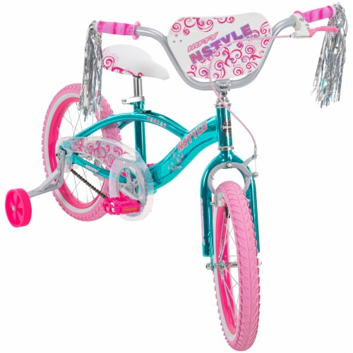 Huffy N'Style Bicycle - Pink/Teal Perspective: right